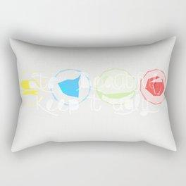 Keep it ugly Rectangular Pillow