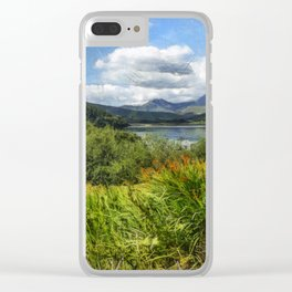 Snowdon View Clear iPhone Case