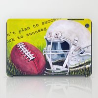 football iPad Cases featuring Football by A Calcines
