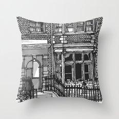 LONDON SLICE Throw Pillow
