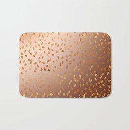 Golden Rain Bath Mat