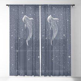 Star Eater Sheer Curtain