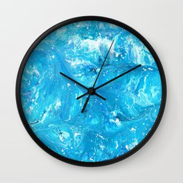 Neptune's Celestite  Wall Clock