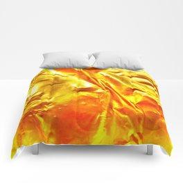 Golden Fabric Comforters