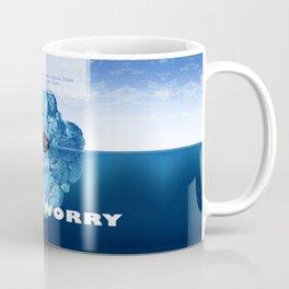 1 Peter 5:7 Worry Coffee Mug