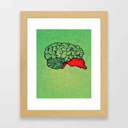 The Brain Framed Art Print