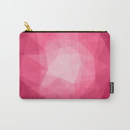 Geometric Polygonal Pattern 02 Carry-All Pouch
