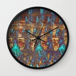 Fish market Wall Clock