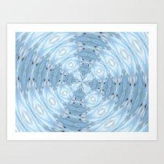 Seagull Kaleidoscope Art Print