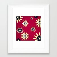 daisies Framed Art Prints featuring Daisies by Armin