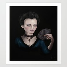 Vanessa Ives - Penny Dreadful Art Print