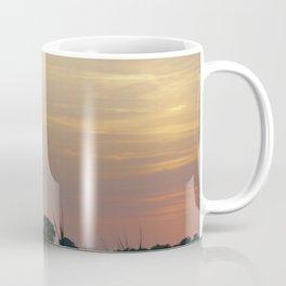 ad solis occasum ventus turbines ab Horumersiel Coffee Mug
