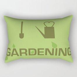 I heart Gardening Rectangular Pillow