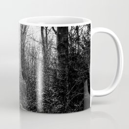 Fallen And Broken Trees After Storm Victoria February 2020 Möhne Forest 8 bw Coffee Mug