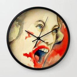 Suspiria Kill Scene Wall Clock