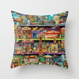 Toy Wonderama Throw Pillow