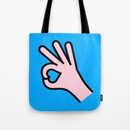 Right Person Tote Bag