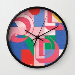 LCD, Soundsystem, gig, poster Wall Clock