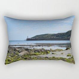 Newlyn from Wherrytown Beach Rectangular Pillow