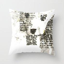 Call You Names Throw Pillow
