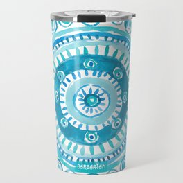 PEARLS OF WISDOM Mermaid Mandala Travel Mug