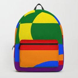 Gay Pride Rainbow Flag Boy Man Gender Male Backpack