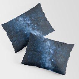 Cobalt Milky Way Pillow Sham