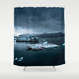 Banquise Shower Curtain