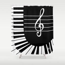 Piano Keys I Shower Curtain