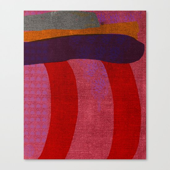 A Reasonable Assumption, Abstract Shapes Canvas Print