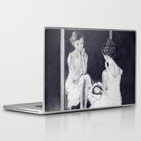 gift card Laptop & iPad Skins featuring Gift by ClaM