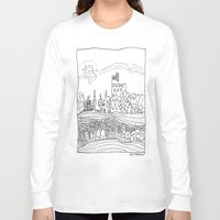 les mis Long Sleeve T-shirts featuring Ciudad de mis amores. by SuperFlashArts!
