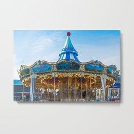 Carousel Pier 39 San Francisco Metal Print