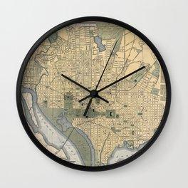 Washington D.C. 1893 Wall Clock