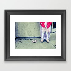 LA Nanny Framed Art Print