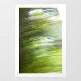 Rainy Day Motion 1 Art Print