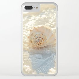 Whelk in the Sea Clear iPhone Case
