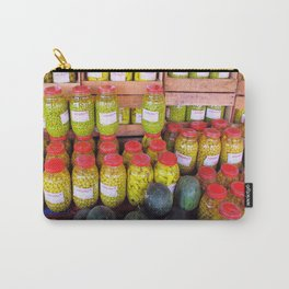 Yellow Preserves Carry-All Pouch