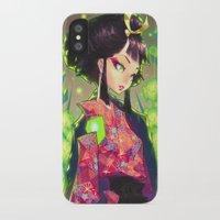 barachan iPhone & iPod Cases featuring kenkyo by barachan