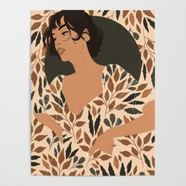 Fall Lover (Beige) Poster