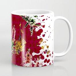 Australian Native Floral Splotch Coffee Mug