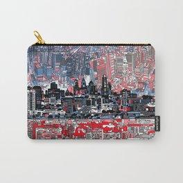 philadelphia city skyline Carry-All Pouch