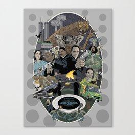 The Men In Black  Canvas Print
