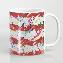 Born on the 4th of July, US Confetti Flag Coffee Mug
