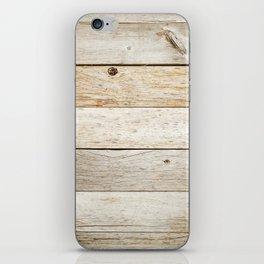 Vintage Wood iPhone Skin