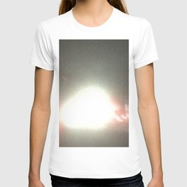 Abstracte Light Art in the Dark 14 T-shirt