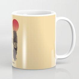 Fahrenheit 451, François Truffaut, french movie, british film, Ray Bradbury,  dystopian novel, book Coffee Mug