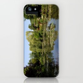 Monets Waterlily Pond iPhone Case