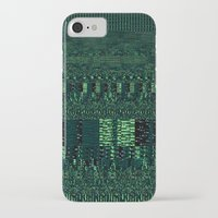 glitch iPhone & iPod Cases featuring Glitch by Pudding