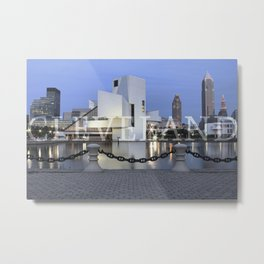 Cleve-Land-Scape Metal Print